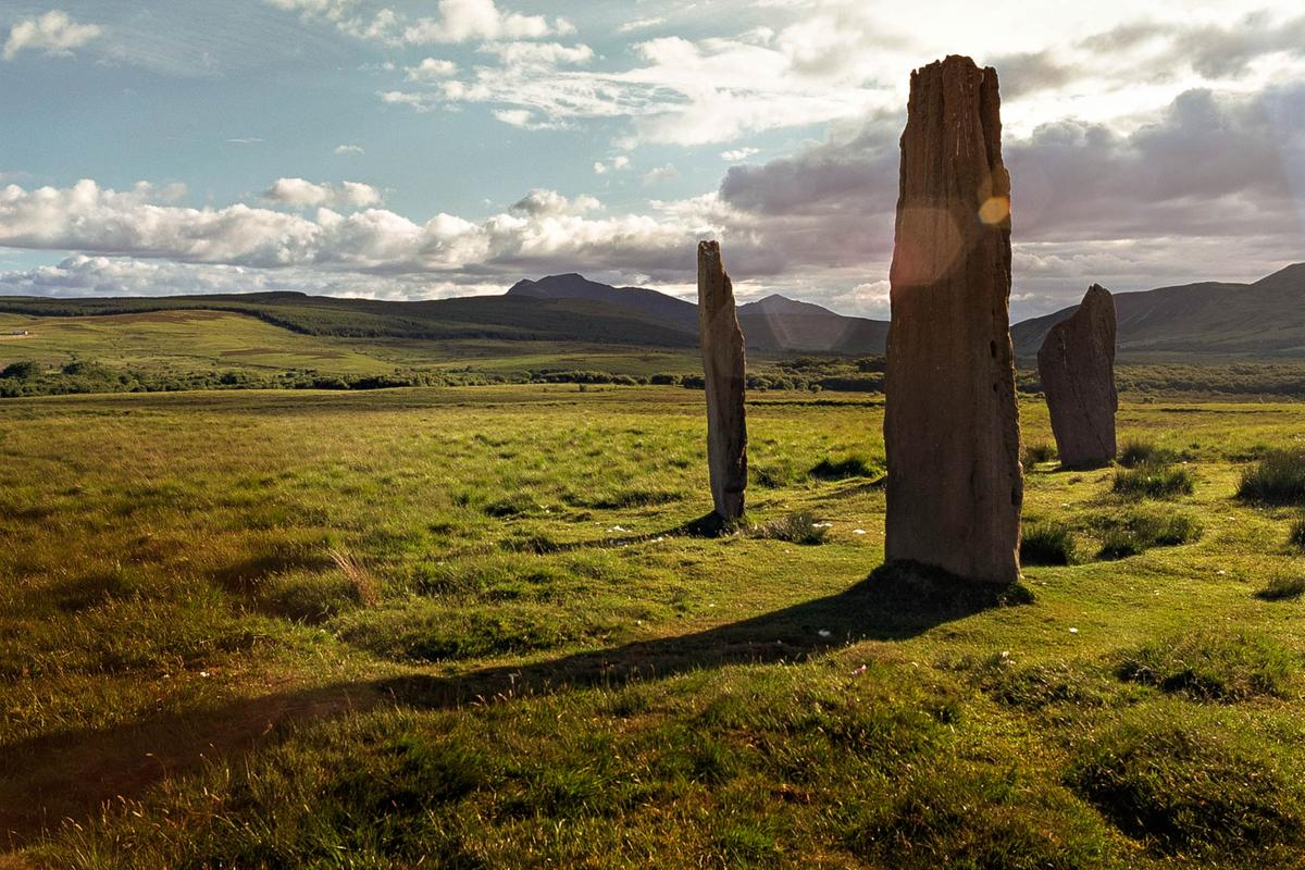 Machrie Moor Standing Stones, Photo by Visit Scotland